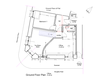 Broughton Road - Floorplan -ground floor
