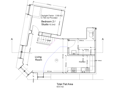 Broughton Road - Floorplan - basement